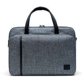 Herschel Gibson Messenger Large raven crosshatch